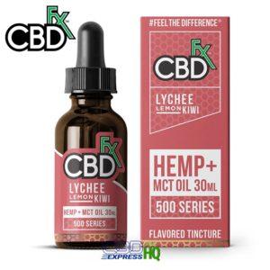 CBDfx CBD Lychee Lemon Kiwi CBD Tincture Oil