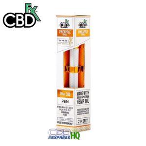 CBDfx CBD Terpenes Vape Pen Pineapple Express 50mg