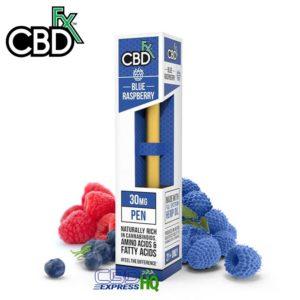 CBDfx CBD Vape Pen Blue Raspberry 30mg