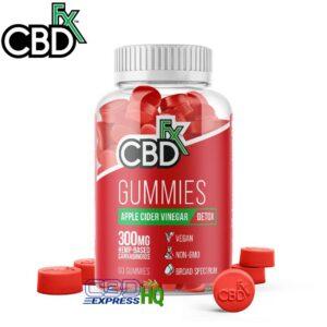 CBDfx CBD Gummies With Apple Cider Vinegar 300mg