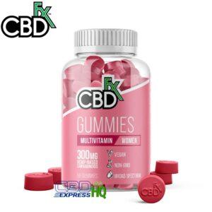 CBDfx CBD Gummies with Multivitamin For Women 300mg