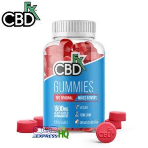 CBDfx CBD Gummies Mixed Berry 1500mg