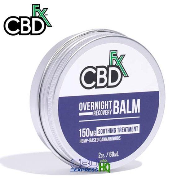 CBDfx CBD Overnight Recovery Balm 150mg