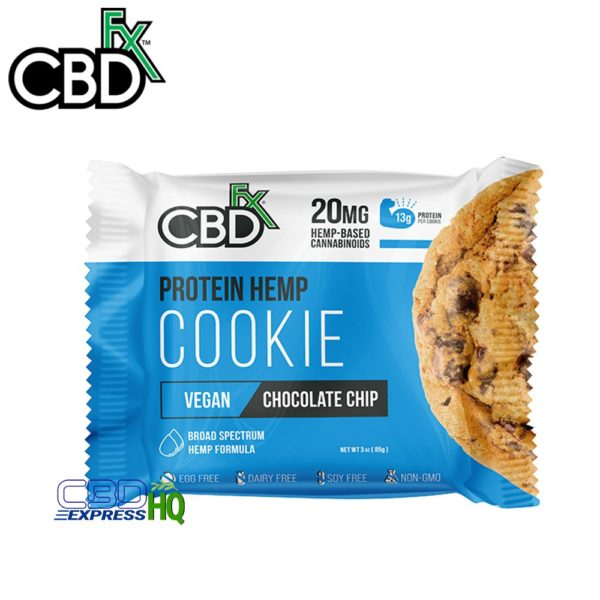 CBDfx CBD Protein Cookie Chocolate Chip