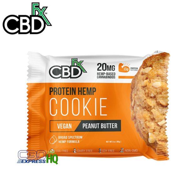 CBDfx CBD Protein Cookie Peanut Butter