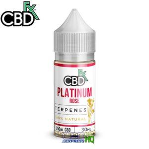 CBDfx CBD Terpenes Platinum Rose