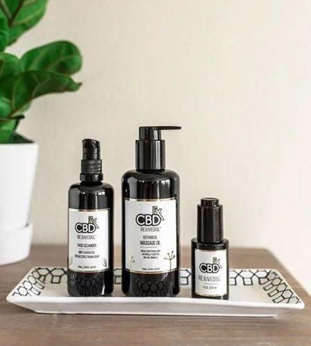 CBDfx Rejuvediol Face Serum Oil Massage Cleanser